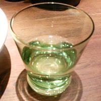 麺屋武蔵 武骨外伝のグラスの写真