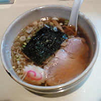 麺屋賢太郎のラーメンの写真