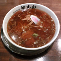瀧本軒のラーメンの写真