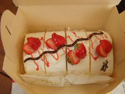 おみやげケーキ