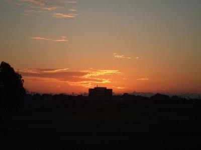 【夕空】夕焼け