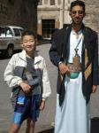 イエたかと男性ジャンビア