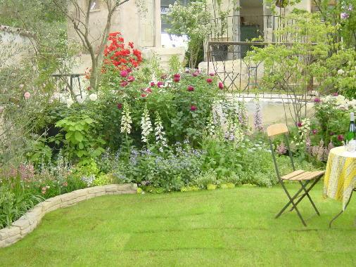 シャトーの花の庭3