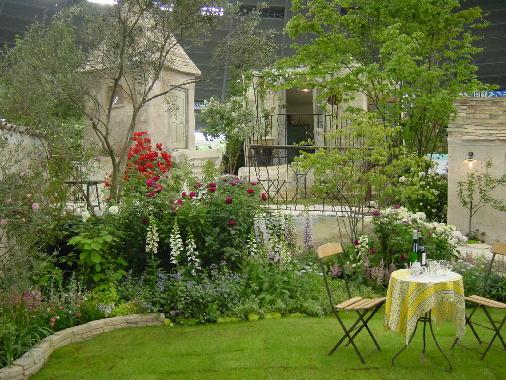 シャトーの花の庭2