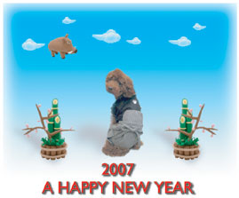 2007年賀状