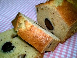 渋皮栗のパウンドケーキ