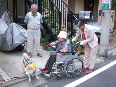 おばあちゃん散歩03