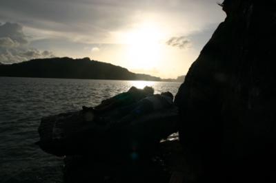 ランカウイの夕陽01
