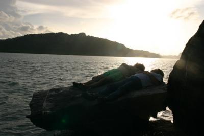 ランカウイの夕陽02