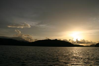 ランカウイの夕陽11
