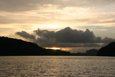 ランカウイの夕陽13