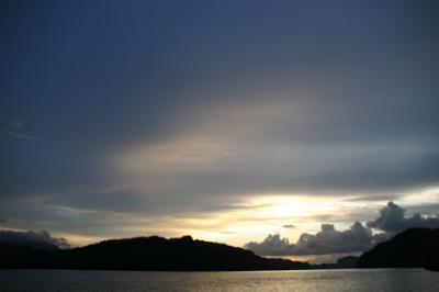 ランカウイの夕陽14