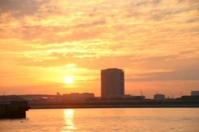 東京湾の朝05