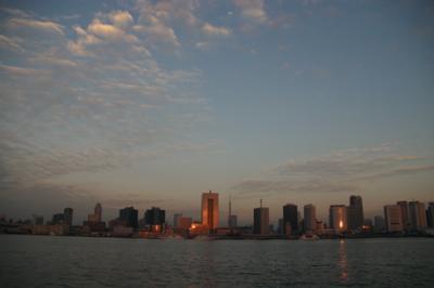 東京湾の朝03