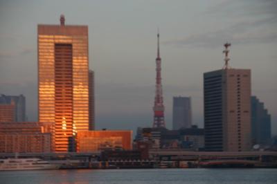 東京湾の朝06