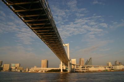 東京湾の朝09