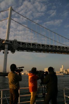 東京湾の朝08