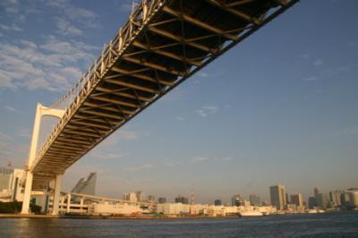 東京湾の朝10