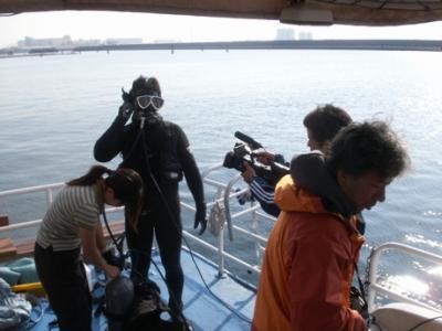 東京湾水中撮影01