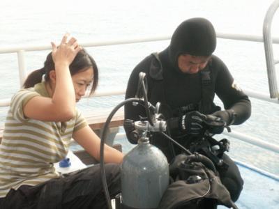 東京湾水中撮影04