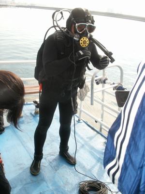東京湾水中撮影05