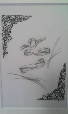 マリッジデザイン画