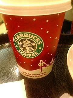 スタバのクリスマス