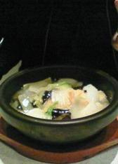 海鮮五目餡かけ炒飯(塩味)♪