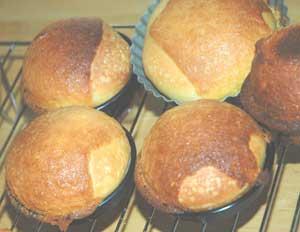 アーモンドクリームのパン