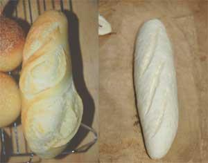 バタール焼く前と後