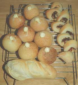 ポテトのパンとバタール