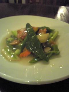 夏野菜の浜塩炒め