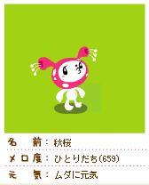 メロ度659秋桜