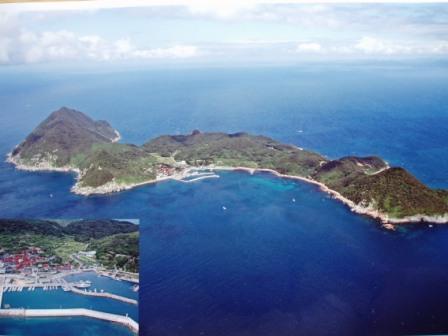 島の『民宿おけや』です(*^-^*) 蓋井島