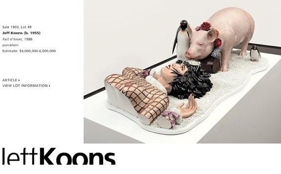 Fait d'hiver Jeff Koons