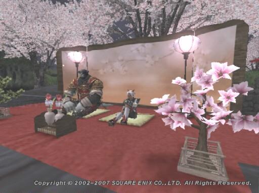 夜桜もまた趣あり