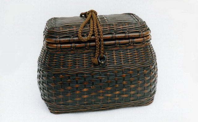時代竹組 茶籠