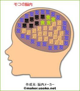 モコちんの脳内