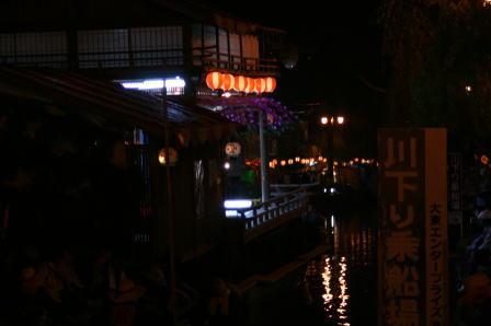 沖端水天宮前の船舞台