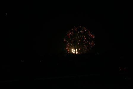 大川の花火大会