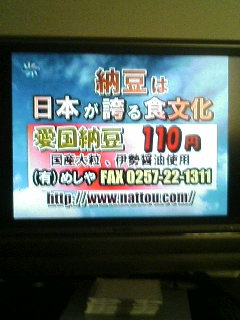 チャンネル桜の広告
