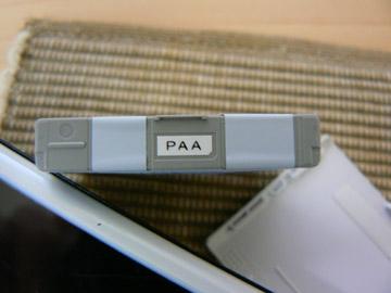 ラベルは「PAA」!!