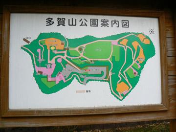 多賀山公園に到着