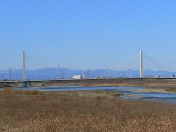 多摩川の上流のほう