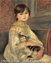ベルト・モリゾの娘ジュリー・マネ