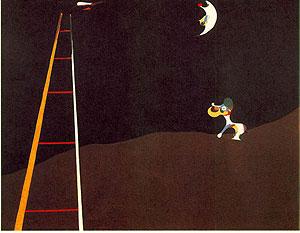 月に吠える犬