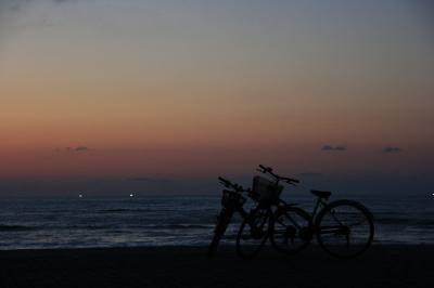 空と自転車1
