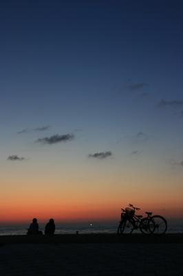 空と自転車2