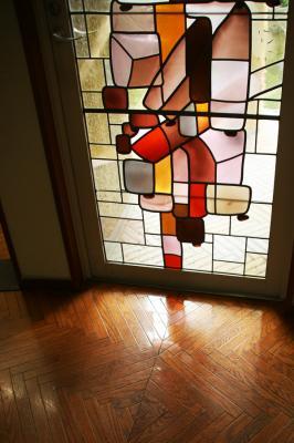 ステンドグラスの窓2