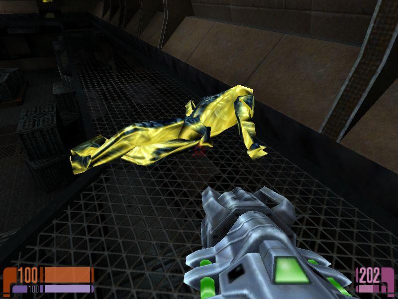 Hunterと名乗る宇宙人を倒し、奴から武器を奪ってやった\(`Д´)ノ